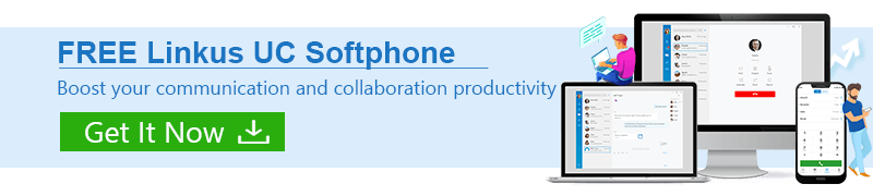 Desk phones, mobile phones and desktops can all use Voice over Internet Protocol (VoIP).