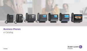 Alcatel Lucent Enterprise Business Phone Catalogue