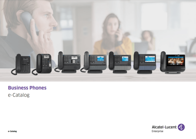 Download the Alcatel Lucent IP Phone Catalogue here